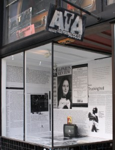 ATA Window installation by artist Jasim Lim